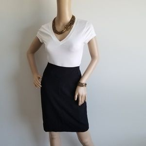 NEW WITH TAGS WORTHINGTON BLACK PENCIL SKIRT 10